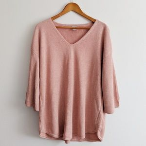Chico's Pink knit sweater
